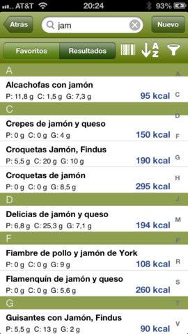 Aplicación IOS para dieta