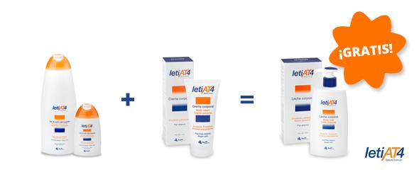 Ofertas en productos para la piel atópica Leti AT4.