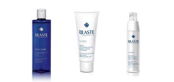Limpiador, antiarrugas y loción para pieles atópicas Rilastil