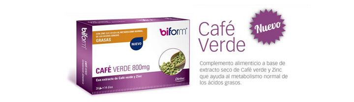 Imagen promocional Café verde Biform Dietisa a la venta en Rosvel Parafarmacia