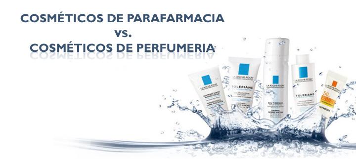 ¿Son mejores los cosméticos de parafarmacia que los cosméticos de perfumería?