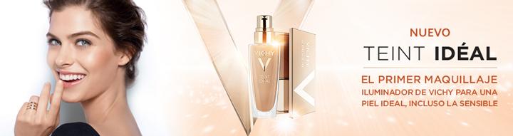 Maquillaje Teint Idéal de la marca Vichy disponible en Rosvel Parafarmacia.