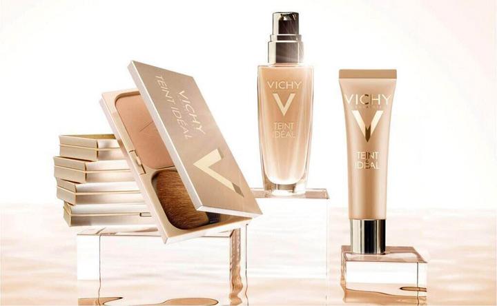 Productos Teint Idéal de Vichy.