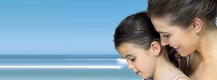 Imagen promocional protectores solares Avene