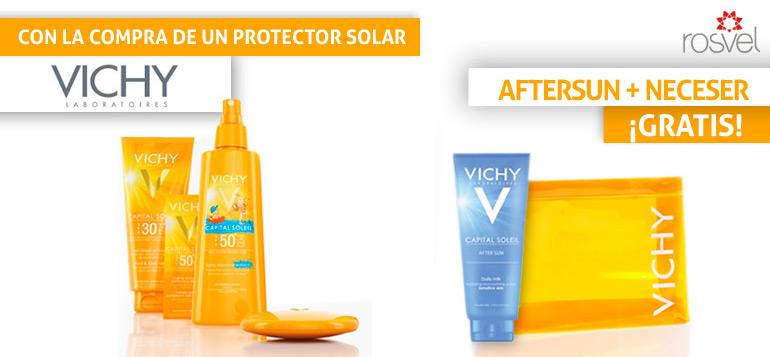 Protectores solares Vichy a la venta en la parafarmacia online Rosvel
