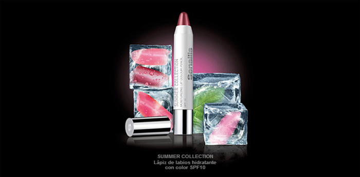 Lápiz de labios de la gama Summer Collection de Sensilis