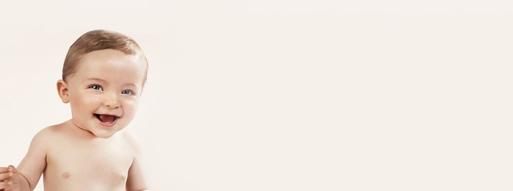 Imagen promocional de Mustela, marca de productos de higiene infantil.