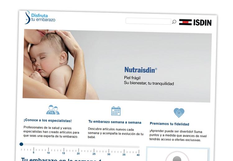 Web www.disfrutatuembarazo.com